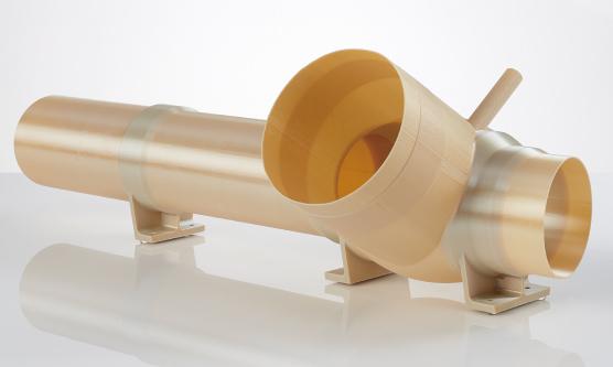 航太材料(ULTEM9085) 3D列印火箭模型